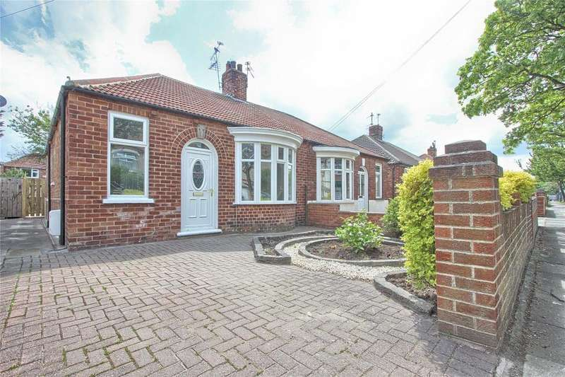 3 Bedrooms Semi Detached Bungalow for sale in Hawthorn Road, Redcar