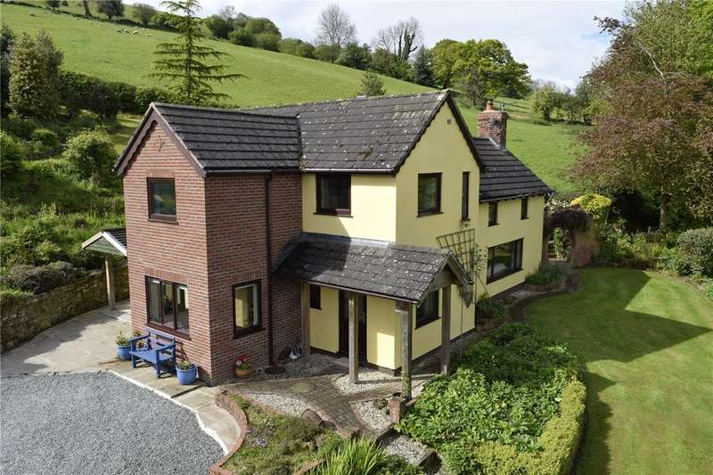 3 Bedrooms Detached House for sale in Brunant, Buttington, Welshpool, Powys
