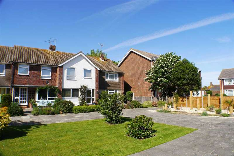 3 Bedrooms Terraced House for sale in Heron Court, Rustington