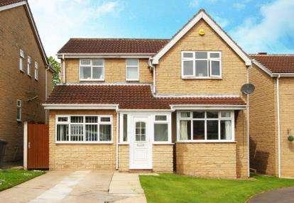 4 Bedrooms Detached House for sale in Betony Close, Killamarsh, Sheffield, Derbyshire