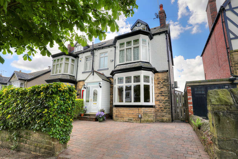 6 Bedrooms Semi Detached House for sale in 17 Silver Hill Road, Ecclesall, S11 9JG