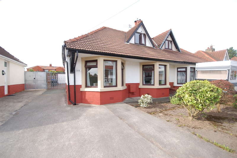 3 Bedrooms Semi Detached Bungalow for sale in Newhouse Road, Blackpool