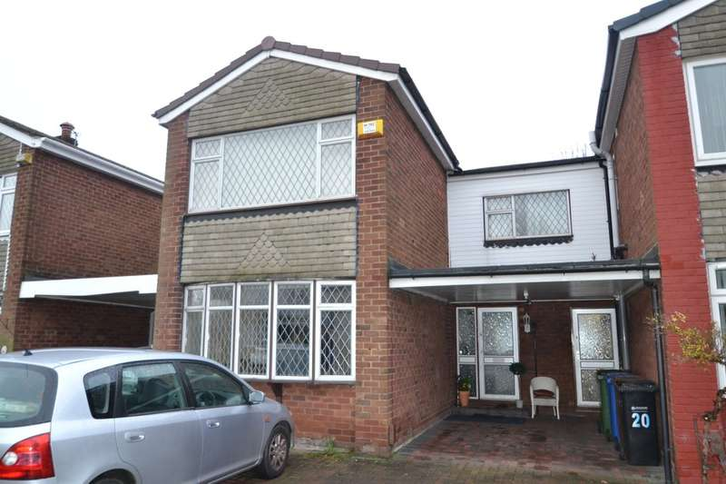4 Bedrooms Semi Detached House for sale in Motcombe Farm Road, Heald Green
