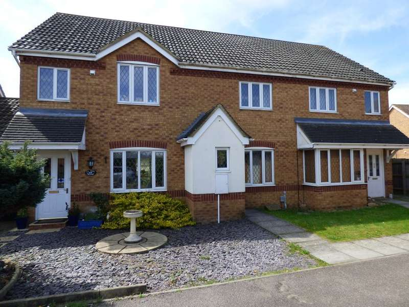 2 Bedrooms Terraced House for sale in Cartmel Priory, Bedford, MK41 0WD