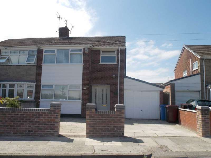 3 Bedrooms Semi Detached House for sale in Melling Drive, Old Hall Estate