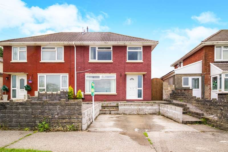 3 Bedrooms Semi Detached House for sale in Pen Parcau, Bettws, Bridgend