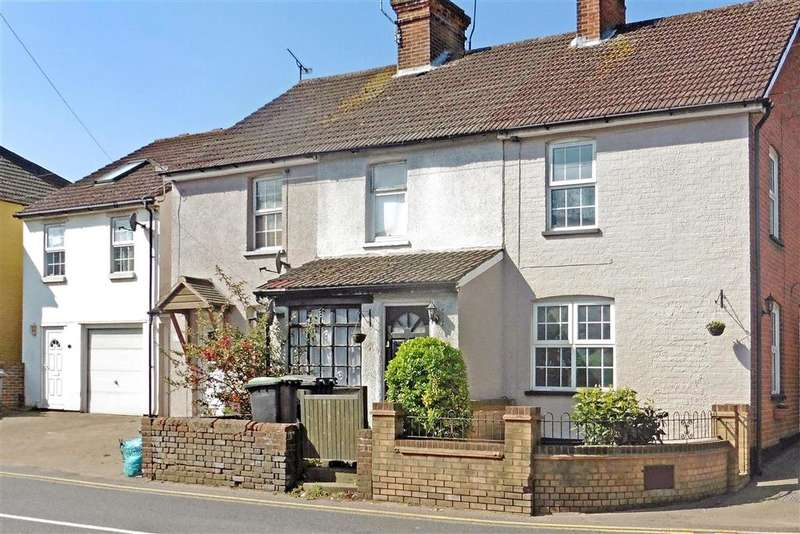 2 Bedrooms Terraced House for sale in New Hythe Lane, Larkfield, Aylesford, Kent