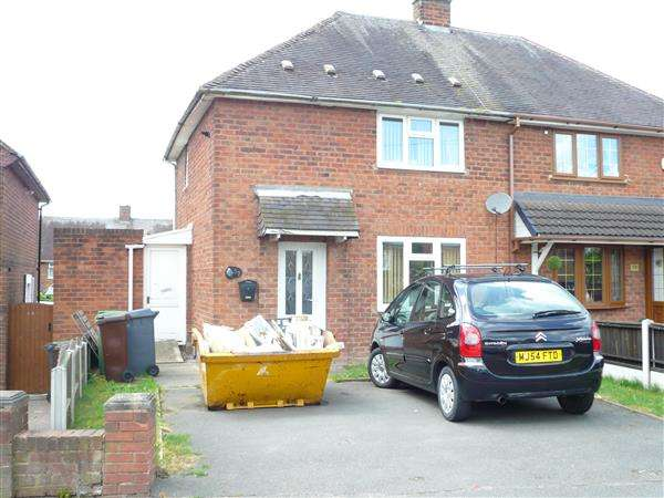 2 Bedrooms Semi Detached House for sale in Barnard Road, Ashmore Park, Wednesfield