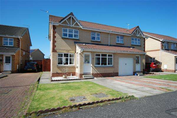 4 Bedrooms Semi Detached House for sale in Landsborough Court, Saltcoats