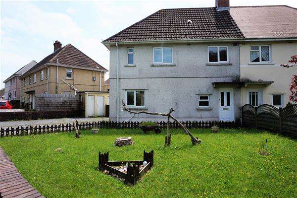 3 Bedrooms Semi Detached House for sale in Maes-Yr-Haf, CROSS HANDS, Llanelli