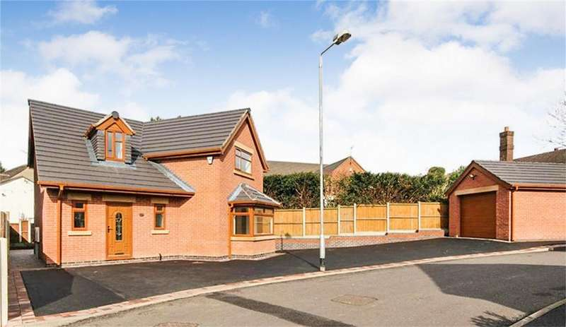 3 Bedrooms Detached House for sale in Glebe Gardens, Cheadle, Staffordshire