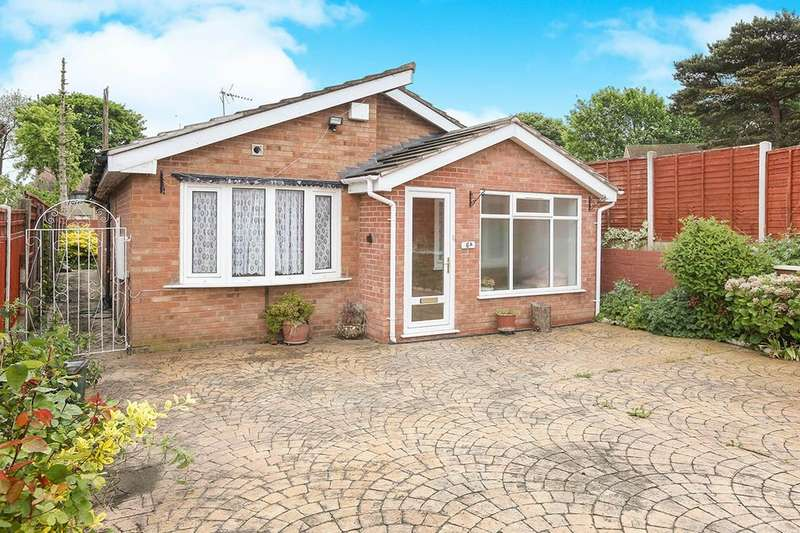 3 Bedrooms Detached Bungalow for sale in Pine Close, Wolverhampton, WV3