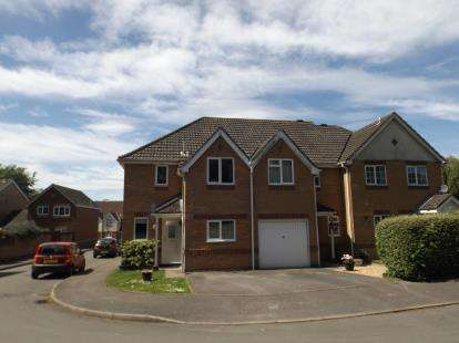 3 Bedrooms Semi Detached House for sale in Fair Oak, Eastleigh, Hampshire