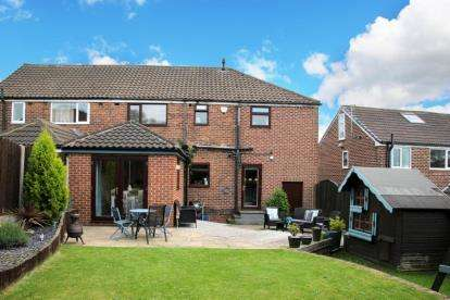 3 Bedrooms Semi Detached House for sale in Reresby Road, Whiston, Rotherham, South Yorkshire