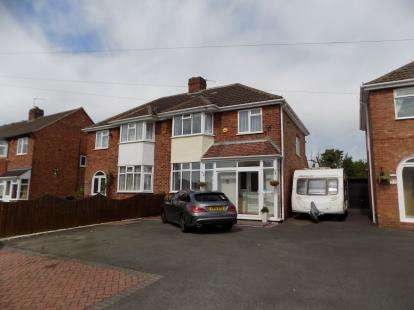 4 Bedrooms Semi Detached House for sale in Springfield Crescent, Sutton Coldfield, West Midlands