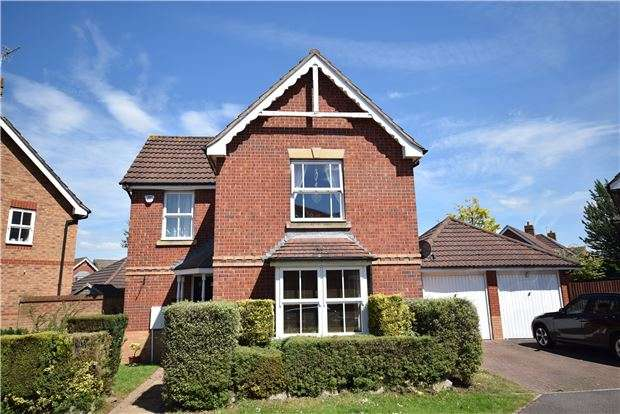3 Bedrooms Detached House for sale in Wadham Grove, Emersons Green, BRISTOL, BS16 7DW