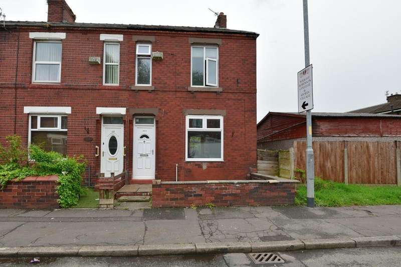 3 Bedrooms End Of Terrace House for sale in Abbey Hey Lane, Gorton, Manchester, Greater Manchester, M18 8TN