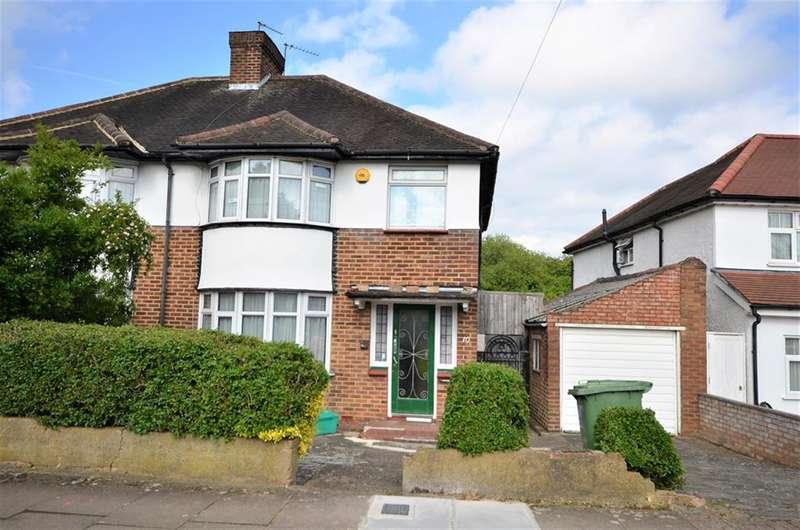 3 Bedrooms Semi Detached House for sale in Ravenscroft Avenue, Wembley, Preston Road Area,, Middlesex, HA9 9TL