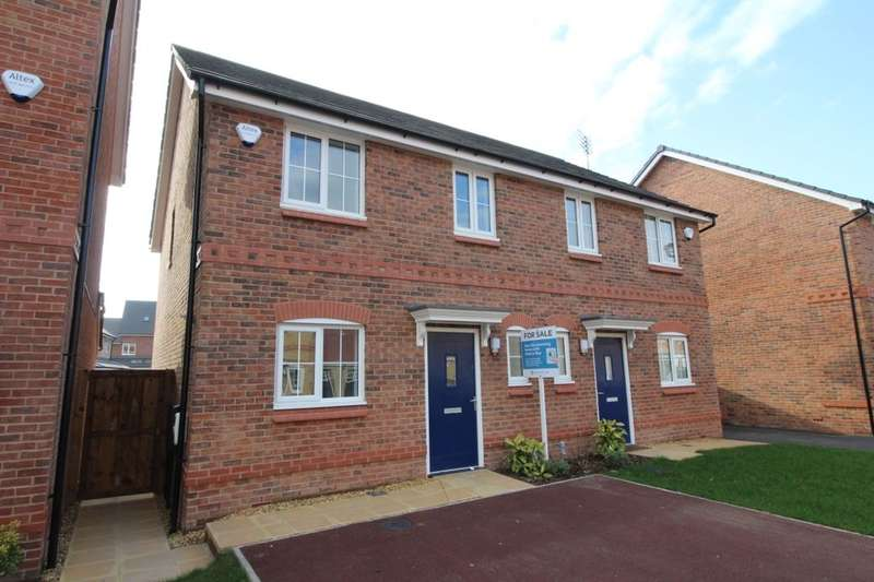3 Bedrooms Semi Detached House for sale in Stephenson Grove Warrington Road, Rainhill, Prescot, L35