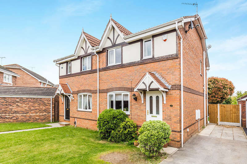 3 Bedrooms Semi Detached House for sale in Castledine Court, Balby, Doncaster, DN4