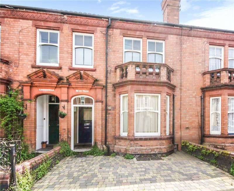 4 Bedrooms Terraced House for sale in Arboretum Road, Worcester, Worcestershire, WR1
