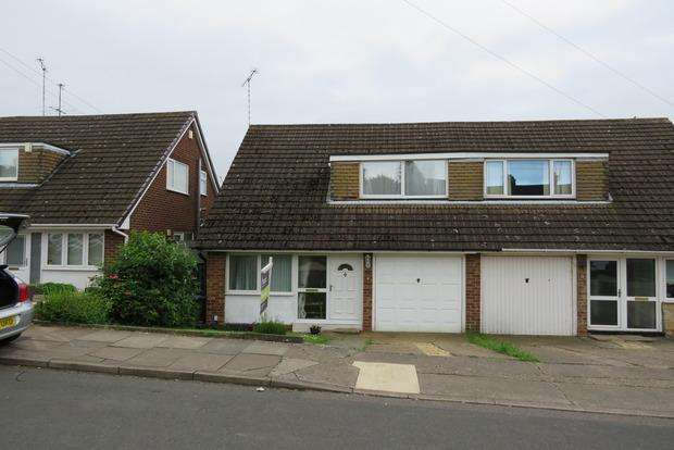 3 Bedrooms Semi Detached House for sale in Rennishaw Way, Northampton, NN2