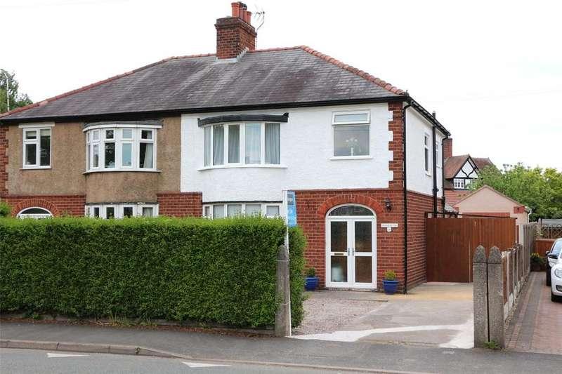 3 Bedrooms Semi Detached House for sale in Borras Road, Wrexham, LL13