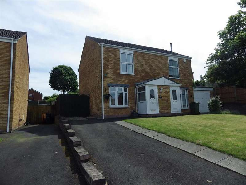 2 Bedrooms Semi Detached House for sale in Wiltshire Drive, Halesowen