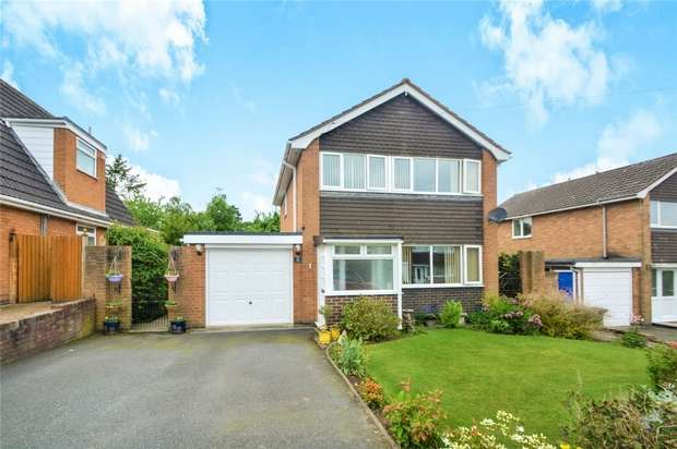 3 Bedrooms Detached House for sale in 8 Ashdale Road, Cressage, Shrewsbury, Shropshire