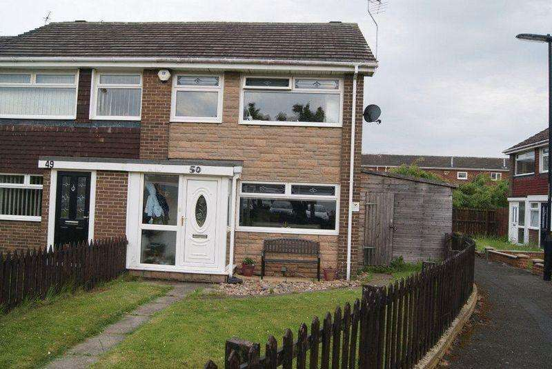 3 Bedrooms End Of Terrace House for sale in Brookland Drive, Killingworth