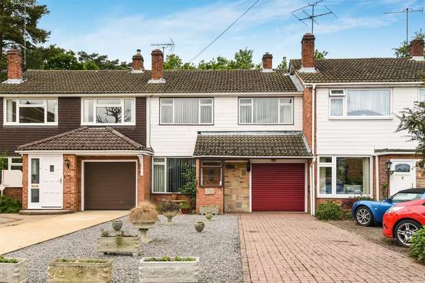 3 Bedrooms Terraced House for sale in Hatch Ride, CROWTHORNE, Berkshire