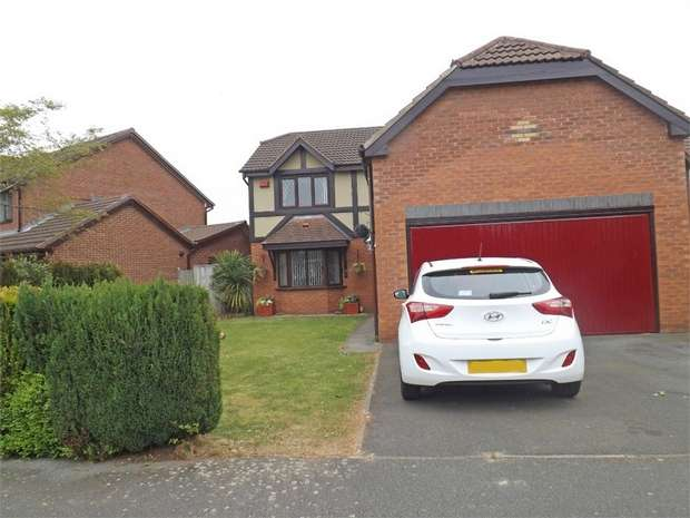 4 Bedrooms Detached House for sale in Ashdown Grove, Liverpool, Merseyside