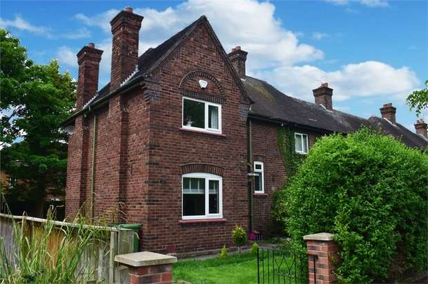 3 Bedrooms End Of Terrace House for sale in Cliveden Road, Chester, Cheshire