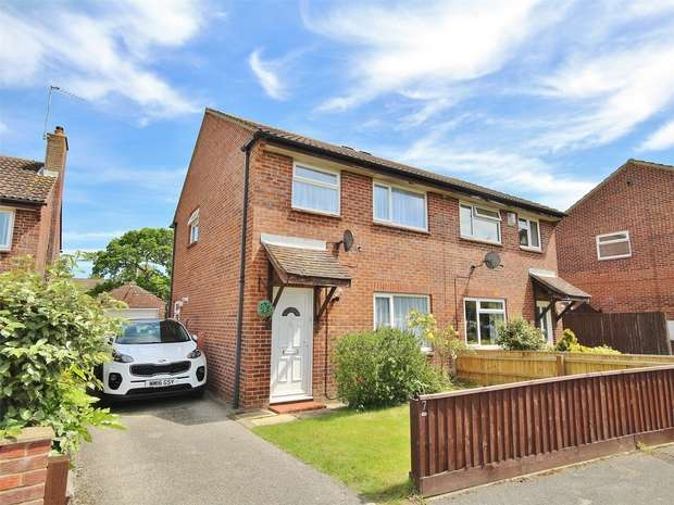 3 Bedrooms Semi Detached House for sale in Nuthatch Close, Creekmoor, POOLE, Dorset