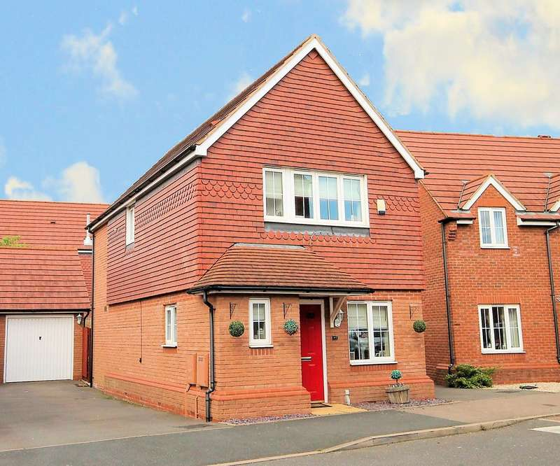 3 Bedrooms Detached House for sale in Valley Drive, Wilnecote, Tamworth, B77 5FL