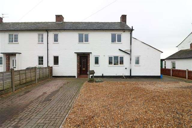 3 Bedrooms Semi Detached House for sale in Netherfield, Kirklinton, Carlisle, Cumbria, CA6 6DU