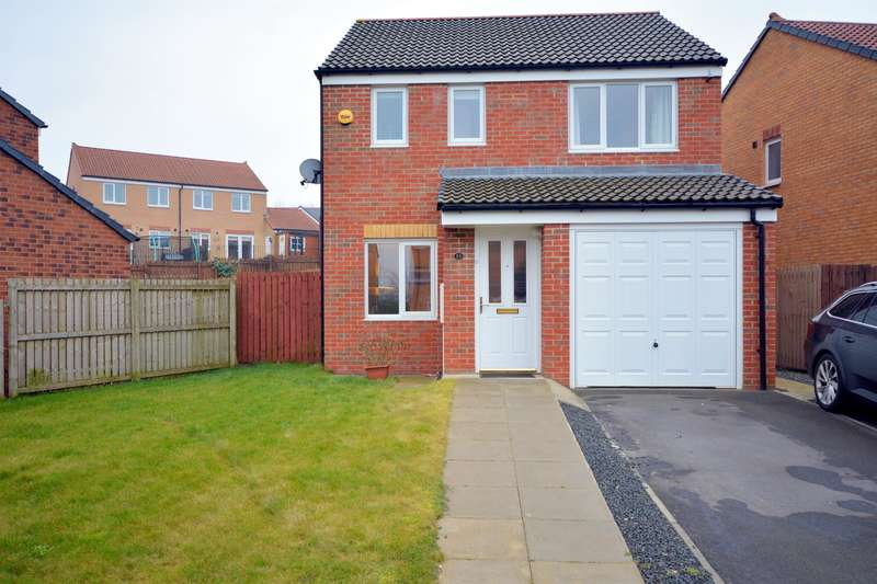3 Bedrooms Detached House for sale in Hutchinson Close, Coundon, Bishop Auckland, DL14 8NY