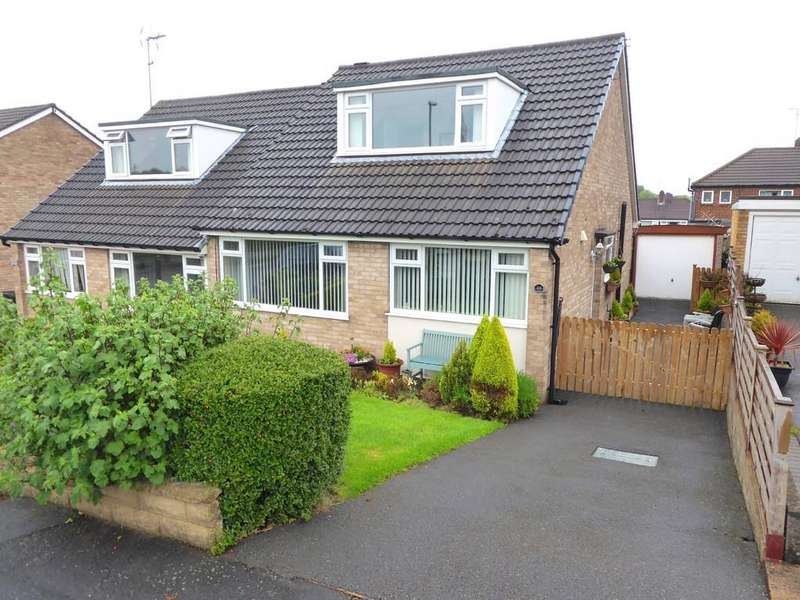 3 Bedrooms Semi Detached Bungalow for sale in Cherry Tree Crescent, Farsley