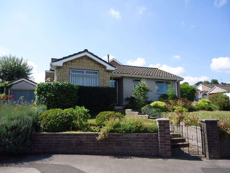 2 Bedrooms Detached Bungalow for sale in Orchard Close, Gilwern, Abergavenny, NP7