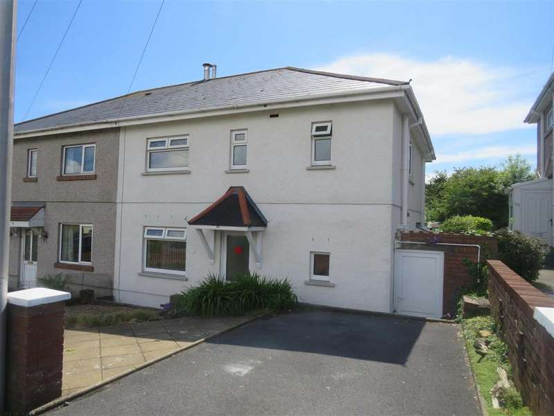 3 Bedrooms Semi Detached House for sale in Heol Goffa, Llanelli