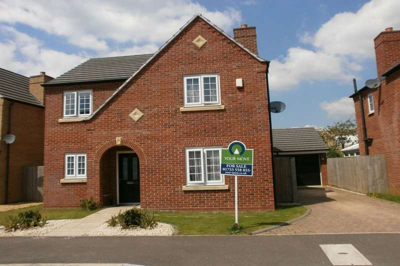 4 Bedrooms Detached House for sale in Charlotte Way, Netherton, Peterborough, PE3
