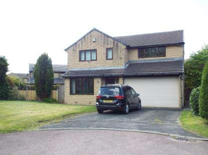4 Bedrooms Detached House for sale in Rushbed Drive, Rossendale, Lancashire, BB4