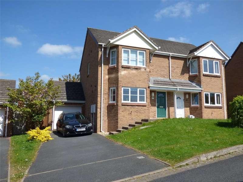 3 Bedrooms Semi Detached House for sale in Hernog Close, Tremont Parc, Llandrindod Wells, Powys