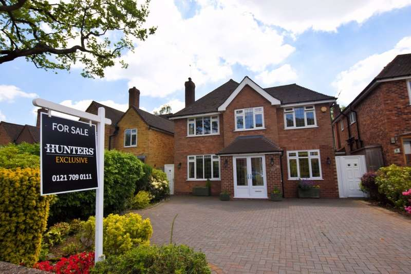 4 Bedrooms Detached House for sale in Browns Coppice Avenue, Solihull