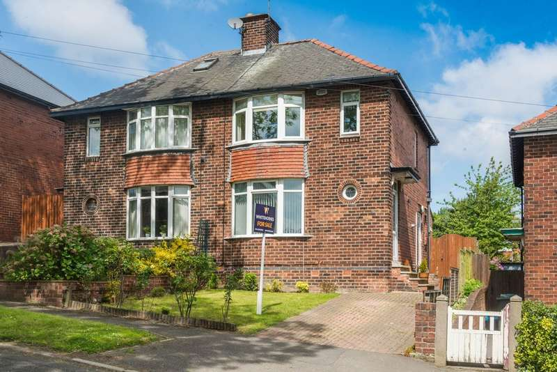 3 Bedrooms Semi Detached House for sale in Thorpe House Rise, Norton Lees