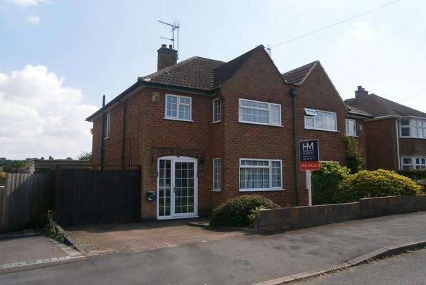 3 Bedrooms Semi Detached House for sale in Armson Avenue, Kirby Muxloe, Leicester, LE9