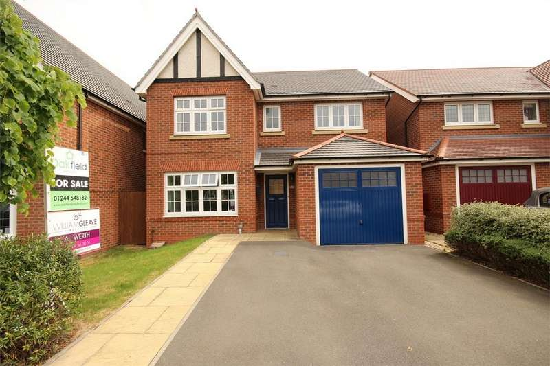 4 Bedrooms Detached House for sale in Catherall Avenue, Buckley, Flintshire