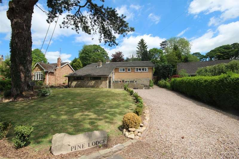 3 Bedrooms Detached House for sale in Pine Lodge, Cheadle Road, Alton, Staffordshire