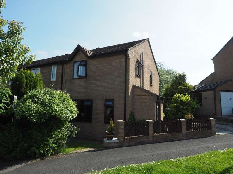 3 Bedrooms Semi Detached House for sale in Beresford Avenue, Chapel-en-le-Frith, High Peak, Derbyshire, SK23 0PZ