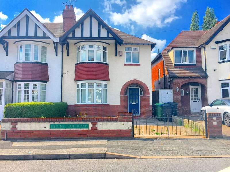 3 Bedrooms Semi Detached House for sale in EBRINGTON ROAD, WEST BROMWICH, B71 1AB